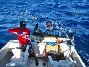 Striped Marlin fished in Cabo San Lucas on 10/21/19