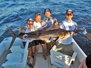 Striped Marlin fished in Cabo San Lucas on 10/26/19