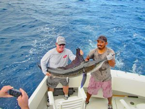 Striped Marlin fished in Cabo San Lucas on 11/28/19