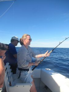 120 lb Striped Marlin fished in Cabo San Lucas on 1/9/20