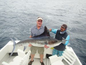 140 lb Striped Marlin fished in Cabo San Lucas on 1/13/20