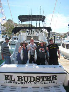 Eight Yellowfin Tuna fished in Cabo San Lucas on 3/5/20