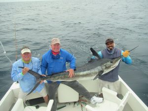 100 and 120 lb Striped Marlin fished in Cabo San Lucas on 3/8/20