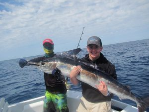 Striped Marlin, 100 LB. and 110 LB fished in Cabo San Lucas on 3/18/20