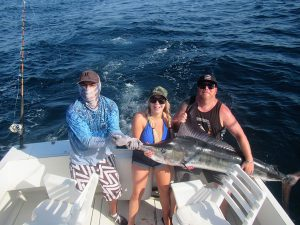 100 lb, 120 lb and 130 lb Striped Marlin fished in Cabo San Lucas on 6/16/20