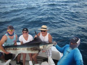 130 lb Striped Marlin fished in Cabo San Lucas on 6/18/20