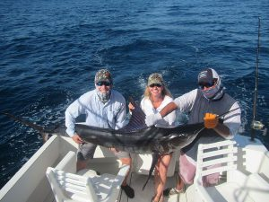 120 lb Striped Marlin fished in Cabo San Lucas on 6/22/20