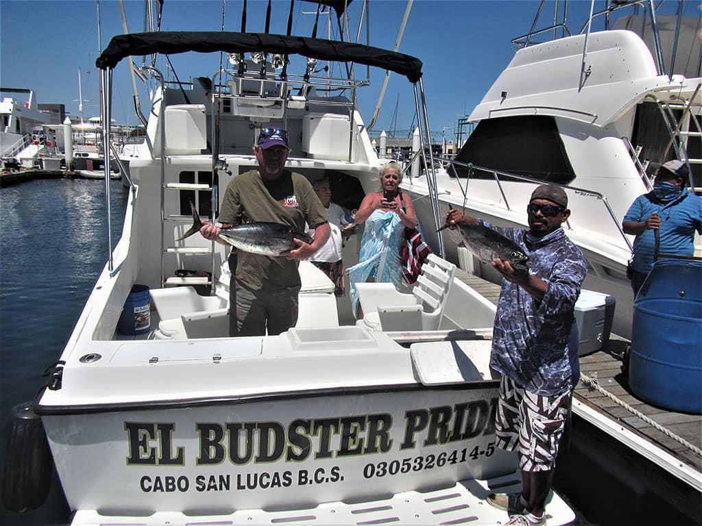 Eight Yellowfin Tuna caught on 8/1/20