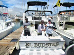 Fishing three YELLOWFIN TUNA and three DORADO in Cabo San Lucas on 8/29/20
