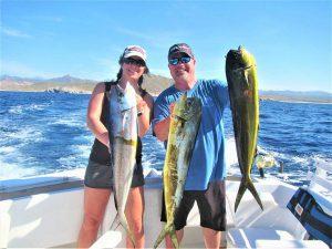 Caught ten DORADO in Cabo San Lucas on 11/18/20