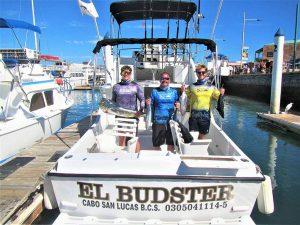 Caught 20 lb DORADO and eight YELLOWFIN TUNA in Cabo San Lucas on 12/27/20
