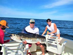 Catch & release 120 lb Striped Marlin in Cabo San Lucas on 1/5/2021