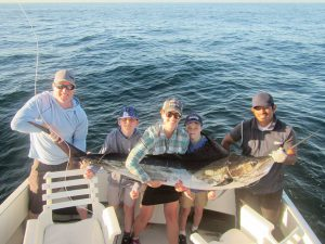 Catch and release STRIPED MARLIN. 130 LB. in Cabo San Lucas on 3/22/21