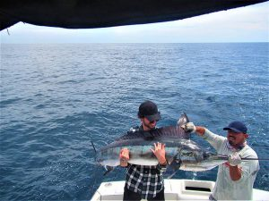 Catch & release 120 and 130 lb Striped Marlin in Cabo San Lucas on 3/19/2021