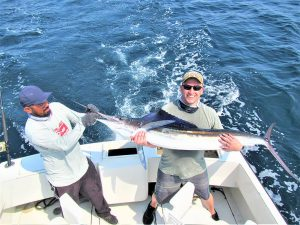 Catch & release 110 lb and 120 lb Striped Marlin in Cabo San Lucas on 5/10/2021