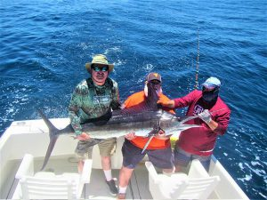 Catch & release 90 LB, 120 LB and 130 LB. Striped Marlin in Cabo San Lucas on 5/20/2021
