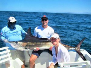 Caught  and released 130 lb Striped Marlin in Cabo San Lucas on 6/8/21