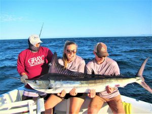 Caught  and released 120 lb Striped Marlin in Cabo San Lucas on 6/11/21