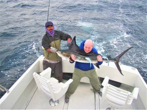 Catch & release 100 LB and 130 LB Striped Marlin in Cabo San Lucas on 6/20/2021