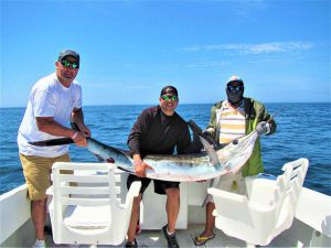 Caught and released 140 lb Striped Marlin in Cabo San Lucas on 6/22/21