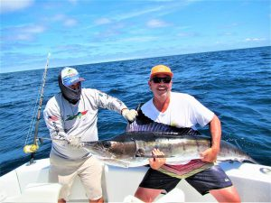 Caught and released 120 and 150 lb Striped Marlin in Cabo San Lucas on 7/4/21