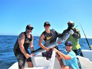 Caught and released 90 lb Striped Marlin in Cabo San Lucas on 7/8/21