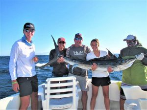 Caught and released 90 lb and 100 lb Striped Marlin in Cabo San Lucas on 7/9/21
