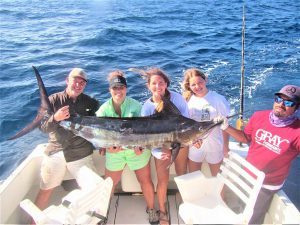 Catch & release 200 LB Striped Marlin in Cabo San Lucas on 7/14/2021