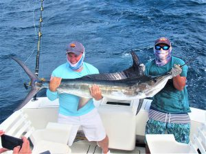 Catch & release 130 LB Striped Marlin in Cabo San Lucas on 7/19/2021
