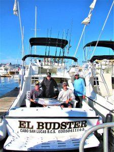 Caught six Yellowfin Tuna, 50, 60, 80 lb in Cabo San Lucas on 7/21/21