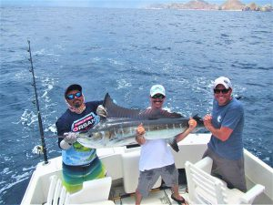 Catch & release 120 and 140 LB Striped Marlin in Cabo San Lucas on 8/4/2021