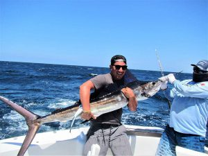 Catch and release 100 pound Striped Marlin in Cabo San Lucas on 9/1/21